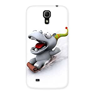 Funny Slide Back Case Cover for Galaxy Mega 6.3