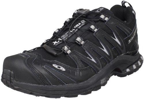 Salomon Salomon Men's XA Pro 3D Ultra 2 GTX Trail Running Shoe,Black/Black/Pewter,11 M US