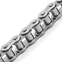 """TRITAN 40-1SS 10FT Precision ANSI Stainless Steel Roller Chain, 1/2"""" Pitch, 10' Box from Bearings Limited"""