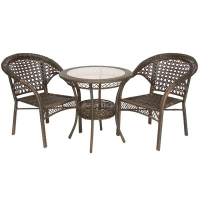 Best Selling Wicker Bistro Set, 3-Piece photo