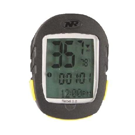 NiteRider Rebel 5.0 Wireless Bicycle Computer w/Altimeter - 8003