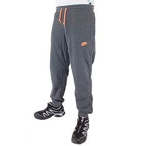 Nike Trousers Aw77 Cuff Pant Charcoal/Mango M: Amazon.co