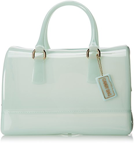 Furla Candy Medium Top Handle Bag, Aqua Gellata, One Size