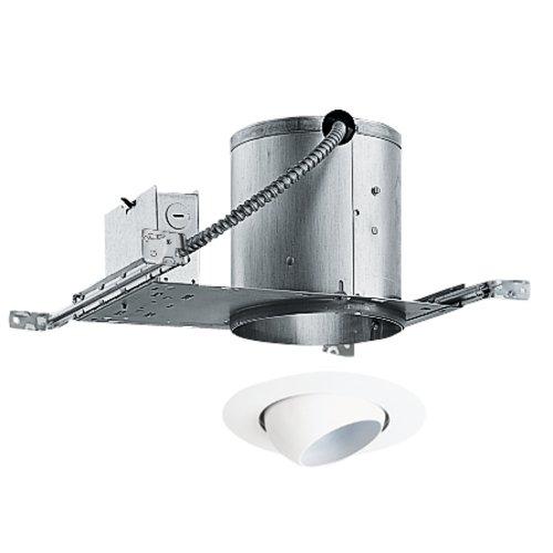 6-Inch Recessed Lighting Kit With Eyeball Trim