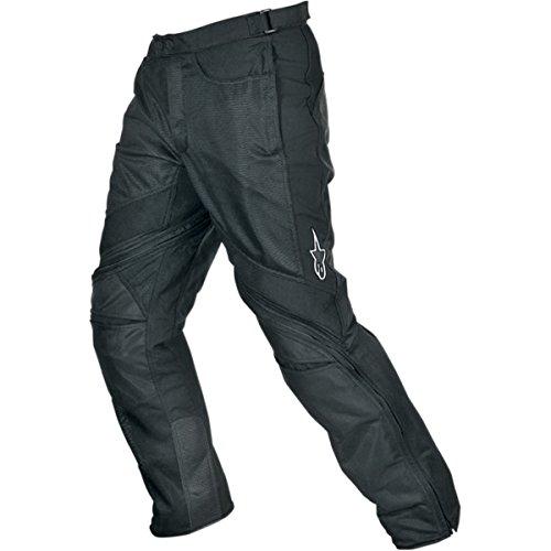 Alpinestars Air-Flo Men's Textile Street Motorcycle Pants - Black / Medium