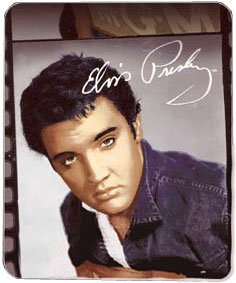 Elvis Presley Idol Fleece Afghan Throw Blanket New Gift