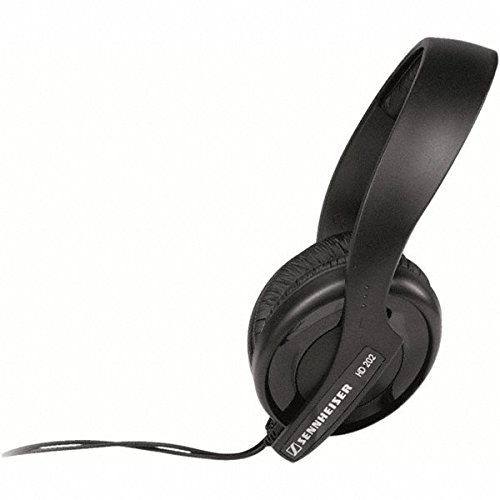 Sennheiser-HD-202-II-Professional-Headphones-Black
