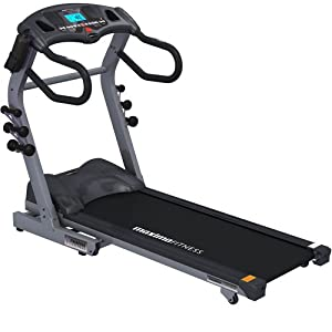 Maxima Fitness MF-2000-ProFX.Evolution-B Auto Incline Folding Home Use Treadmill - Grey/Black, Medium