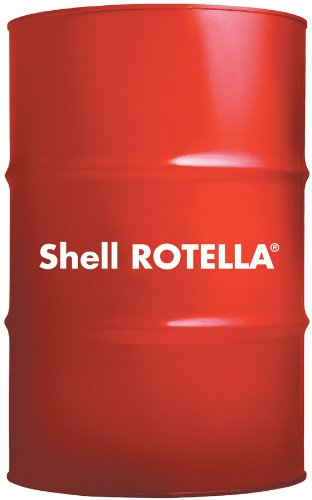 Rotella 550036419 t6 full synthetic heavy duty 0w 40 for 55 gallon motor oil prices