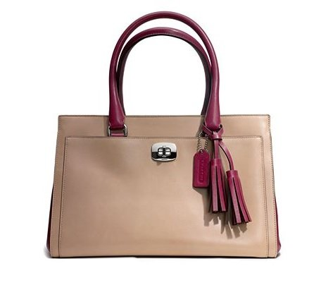 Coach Legacy 2 Tone Leather Chelsea Carryall 25806
