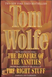 essays on bonfire of the vanities New york (ap) — tom wolfe, the white-suited wizard of new journalism who exuberantly chronicled american culture from the merry pranksters through the space race before turning his satiric wit to such novels as the bonfire of the vanities and a man in full, has died.