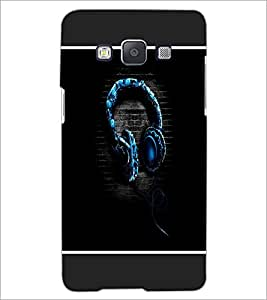 PrintDhaba Music D-1315 Back Case Cover for SAMSUNG GALAXY A5 (Multi-Coloured)