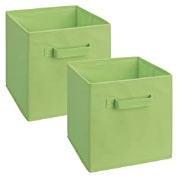 Product Image ClosetMaid Fabric Drawers 2-pk. - Green