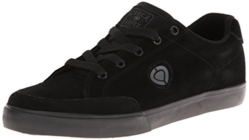 C1RCA Men's AL50 Skate Shoe, Black/Black, 9 M US