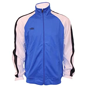 Umbro 2-Tone Taped Track Jacket (XX-Large, Royal/White)