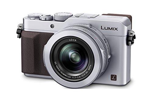 Panasonic Lumix DMC-LX100 Fotocamera Digitale, 16.84 Megapixel, Argento