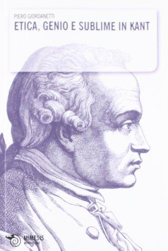Etica, genio e sublime in Kant