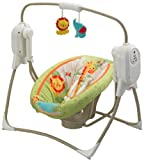 Fisher-Price Rainforest Friends SpaceSaver Cradle 'n Swing