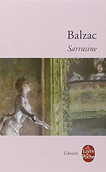 Sarrasine par Honore de Balzac