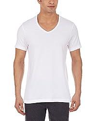 Jockey Mens Cotton Vest (8901326019085_8824-0110-WHITE White L)