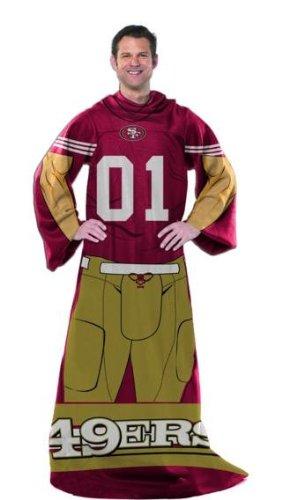 49ers Blanket Fleece front-1040549