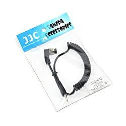 JJC Cable-B Remote Shutter connector cable for Nikon MC-30 and Triggertrap