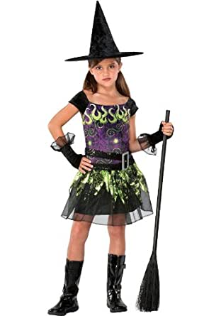 Big Girls' Spellcaster Witch Costume Medium (8-10)