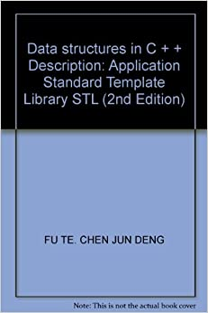 data structures in c description application standard template library stl 2nd edition. Black Bedroom Furniture Sets. Home Design Ideas