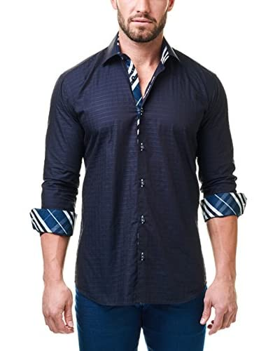 Maceoo Men's Luxor Jacquard Shirt