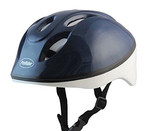 Economy Bike Helmet with White Foam, Includes Bonus Weatherproof Vinyl Permanent Adhesive Reflector Sticker, Different Colors & Sizes Available. (Blue, X-Small (3-6 Years)) (New Jersey Devils Hard Hat compare prices)