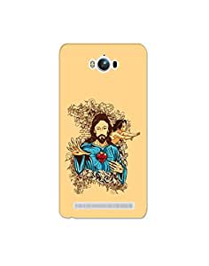 Mott2 Typography Pattern Back Cover Design for Asus Zenfone Max - Jesus Chris... (Limited Time Offers,Please Check the Details Below)