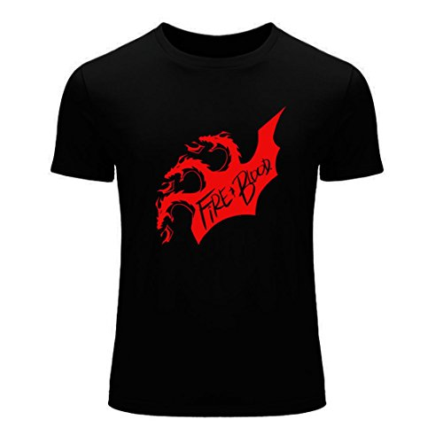 Men's Game of Thrones Fire and Blood Black T-Shirt N7J4MG