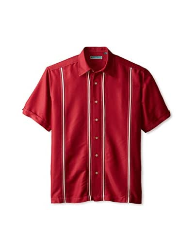 Cubavera Men's Short Sleeve Woven Shirt