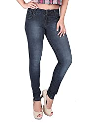 Airways Womens' Stretchable Ankle Length Denim-30