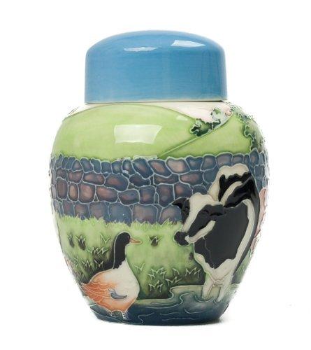 Old Tupton Ware Farmyard Ceramic Ginger Vase 15.5cm