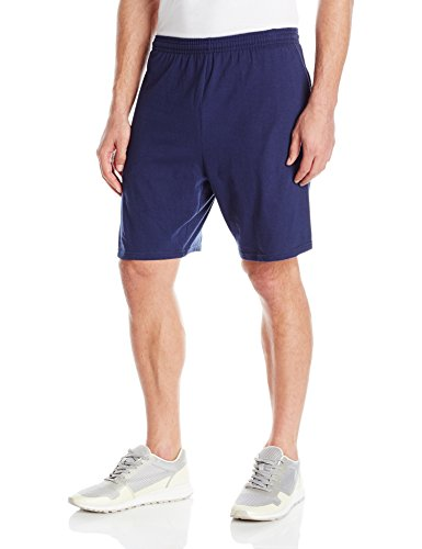 hanes-mens-jersey-short-with-pockets-navy-medium
