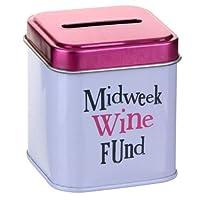 Bright Side Money Tin ~ MIDWEEK WINE FUND