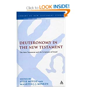 Amazon.com: Deuteronomy in the New Testament: The New Testament ...