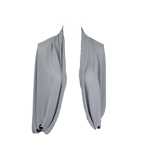 14-Farben-Weiche-lange-Nursing-Schal-Stillen-Abdeckung-Solid-Color-Hell-Grau