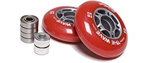 Buy The Wave Street Surfing Wheel Set-Red Wheel Set by Street Surfing
