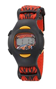 Kids' 7100012B Character Hot Wheels Car and Digital Watch