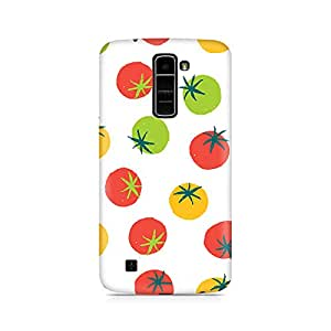 Mobicture Premium Printed Back Case Cover With Full protection For LG K 7