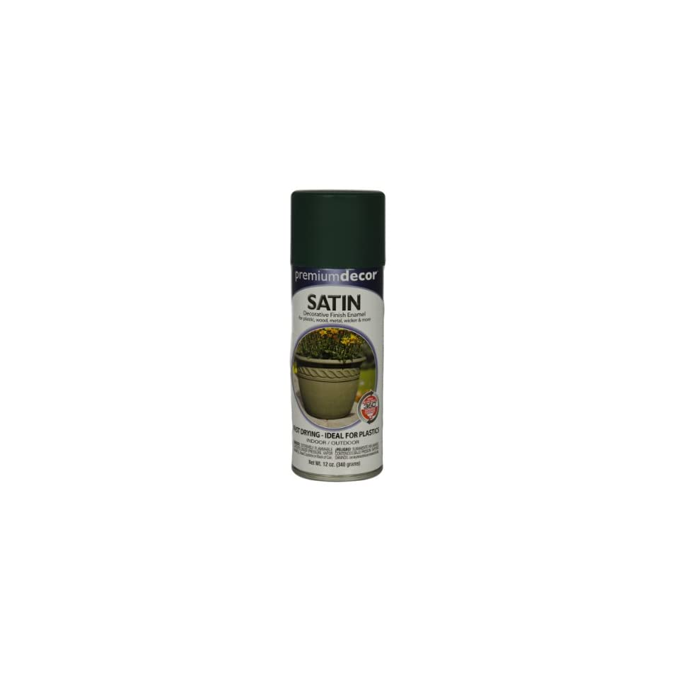 True Value Mfg Company Pds12oz Hgrn Sat Enamel Pds150 A Interior/Exterior Aerosol Paints
