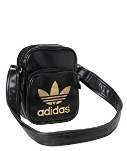 adidas Adicolor Mini X32624 Sacoche bandoulière 17 x 21 x 5 cm Noir/Or
