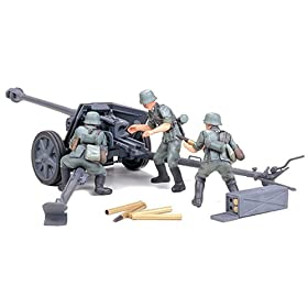 German 75mm Anti Tank Gun Military Model Kit