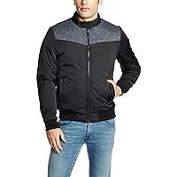 Arrow Newyork Men's Regular Fit Jacket (8907259328805_AJQY9409_XX-Large_Black)