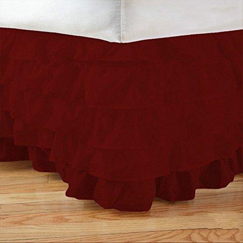Bedskirt 17 Inch Drop