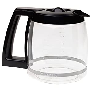 Cuisinart DCC-1200PRC 12 Cup Replacement Carafe-Black