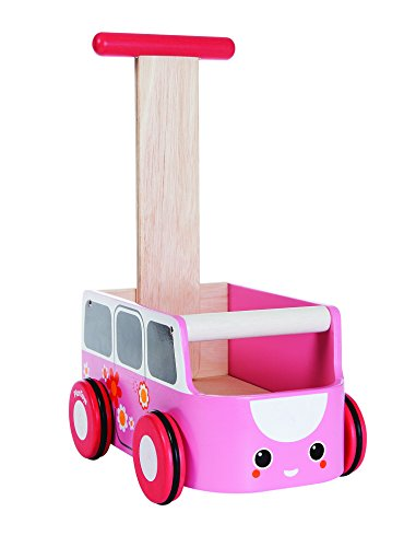 Plan Toys Van Walker, Pink