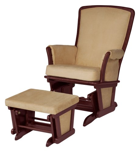Baby Glider And Ottoman front-116866
